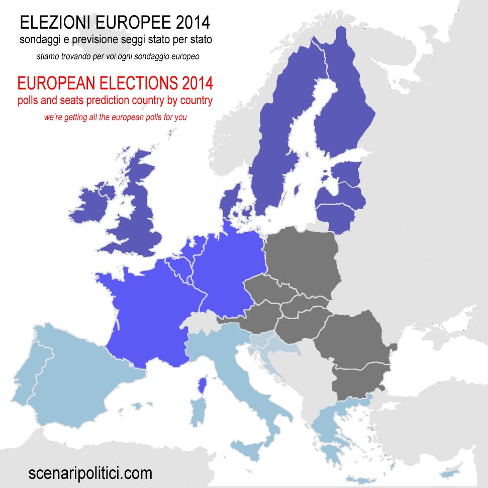 europa divisione menù